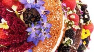Torta-Naked-Cake-Curauma-Placilla-Catering-Banquetería-Valparaíso